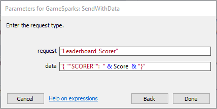 Construct 2 Leaderboards - GameSparks Learn