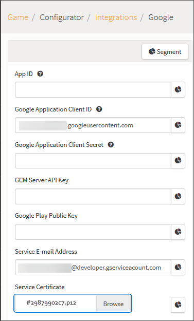 Google+ Authentication - GameSparks Learn