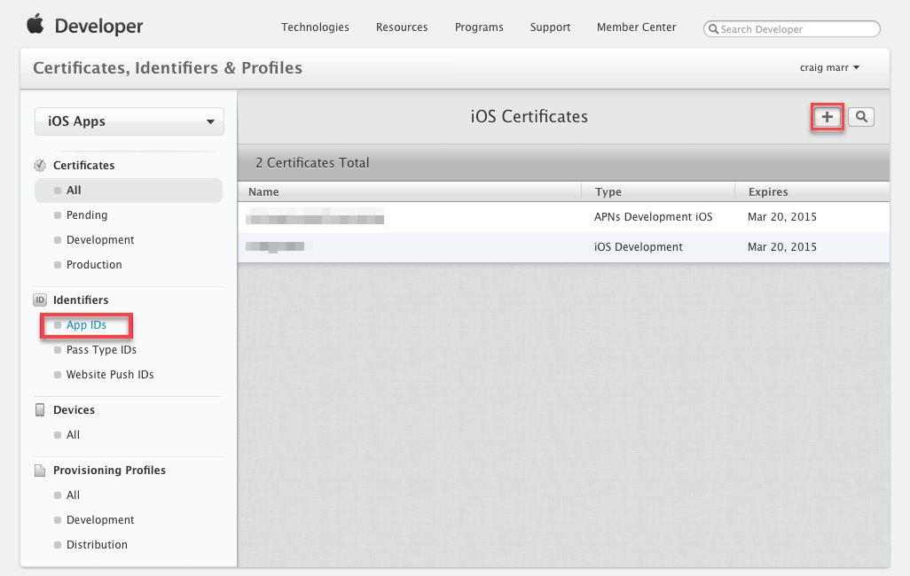 Configuring iOS Push Notifications - GameSparks Learn